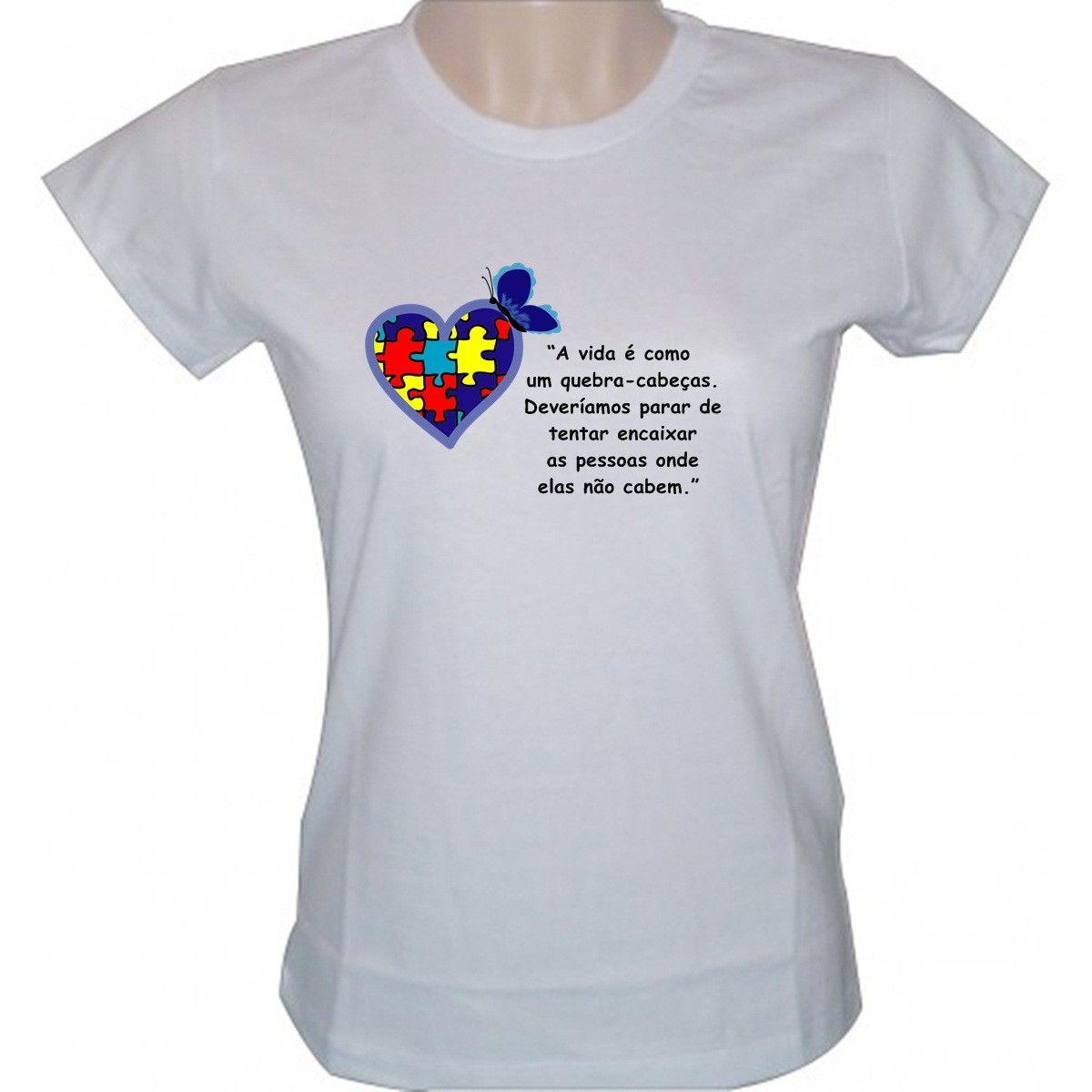 Camiseta autismo  ee6eee626ad2a
