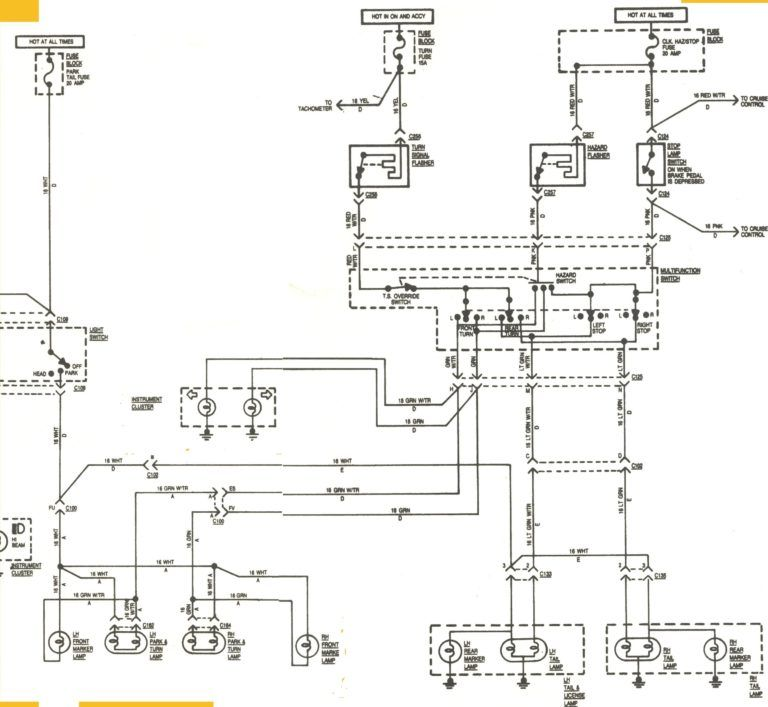 2002 Jeep Wrangler Radio Wiring Diagram Schematics And In Ford Ranger Diagram Chevy Trailblazer