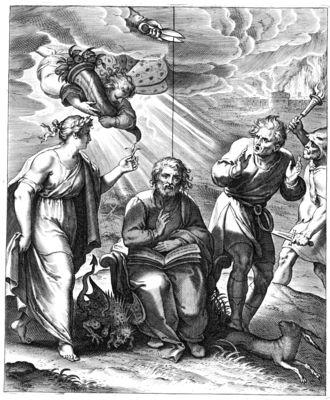 Otto Vaenius - Vera philosophia mortis est meditatio