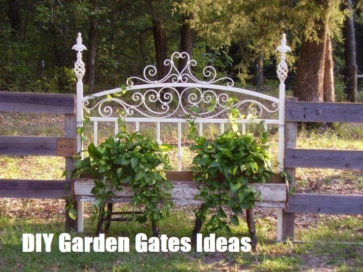 TOP 10 DIY Garden Gates Ideas #palettendeko