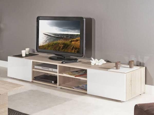 meuble tv bois blanc vieilli Sejour Pinterest Searching