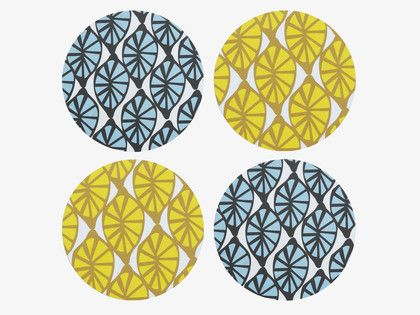 How cute are these coasters from Habitat?