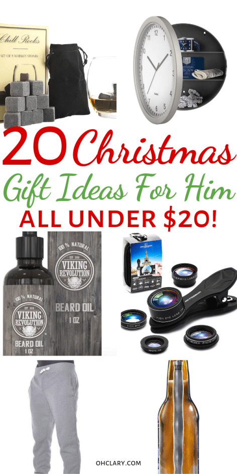 20 Cheap Gifts For Him Christmas Or Birthday Perfect As Inexpensive Stocking Stuffers These Meaningful And Romantic Presents Are Great Boyfriends