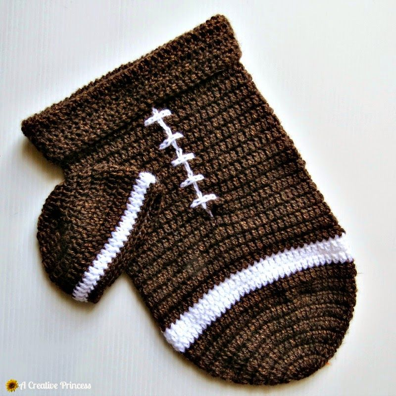 A Creative Princess Crocheted Baby Football Cocoon Babies