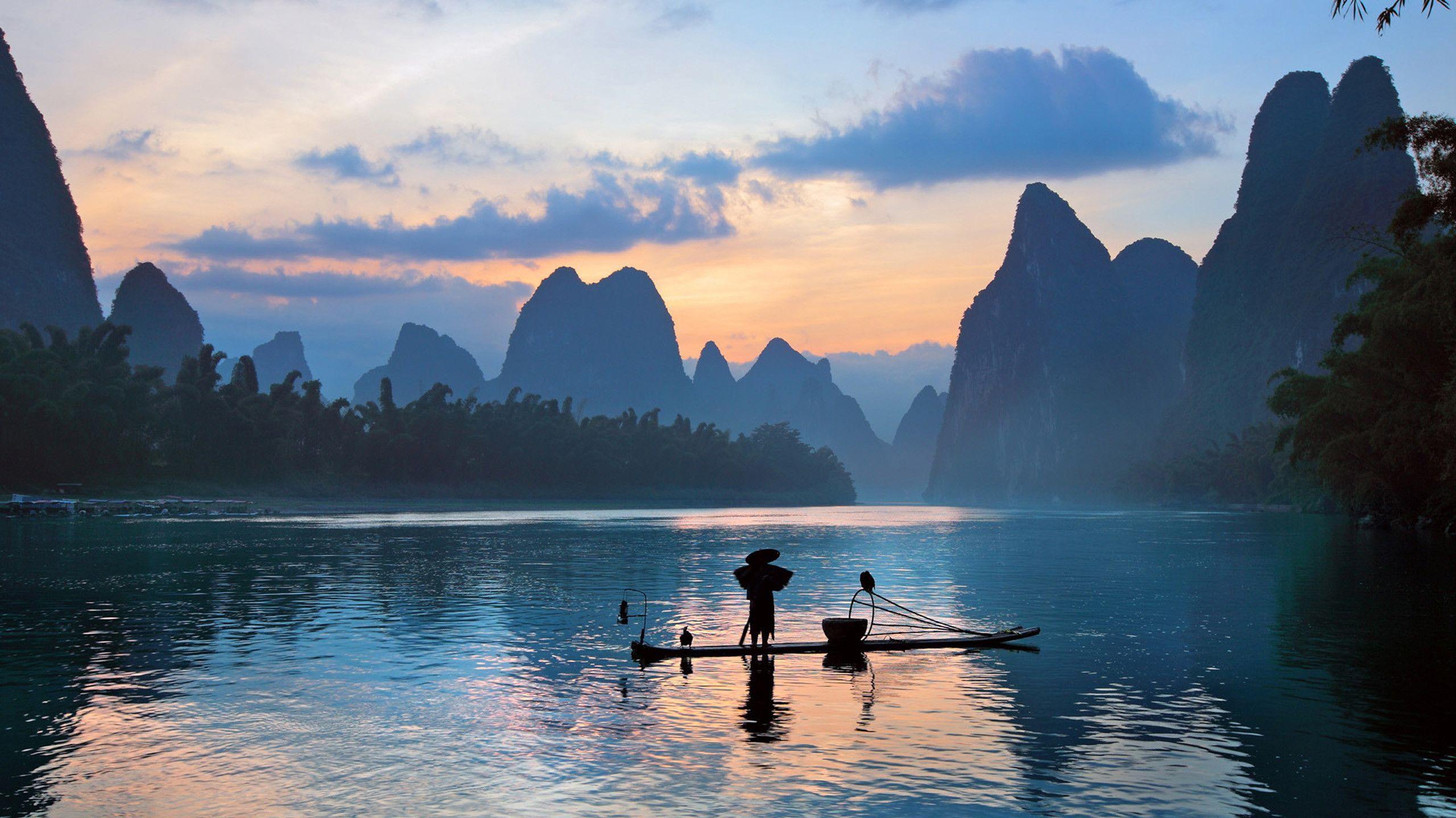 Chinese Landscape Wallpaper 71 Images Peintures Asiatiques Paysage Les Continents