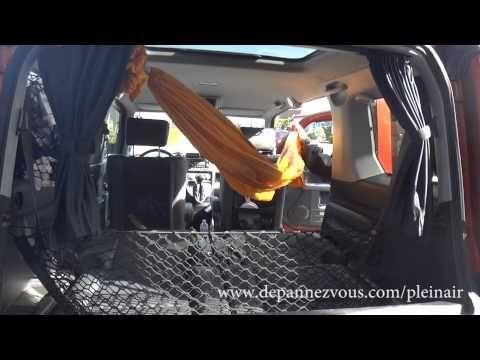 Honda Element Installation d'un hamac YouTube Honda
