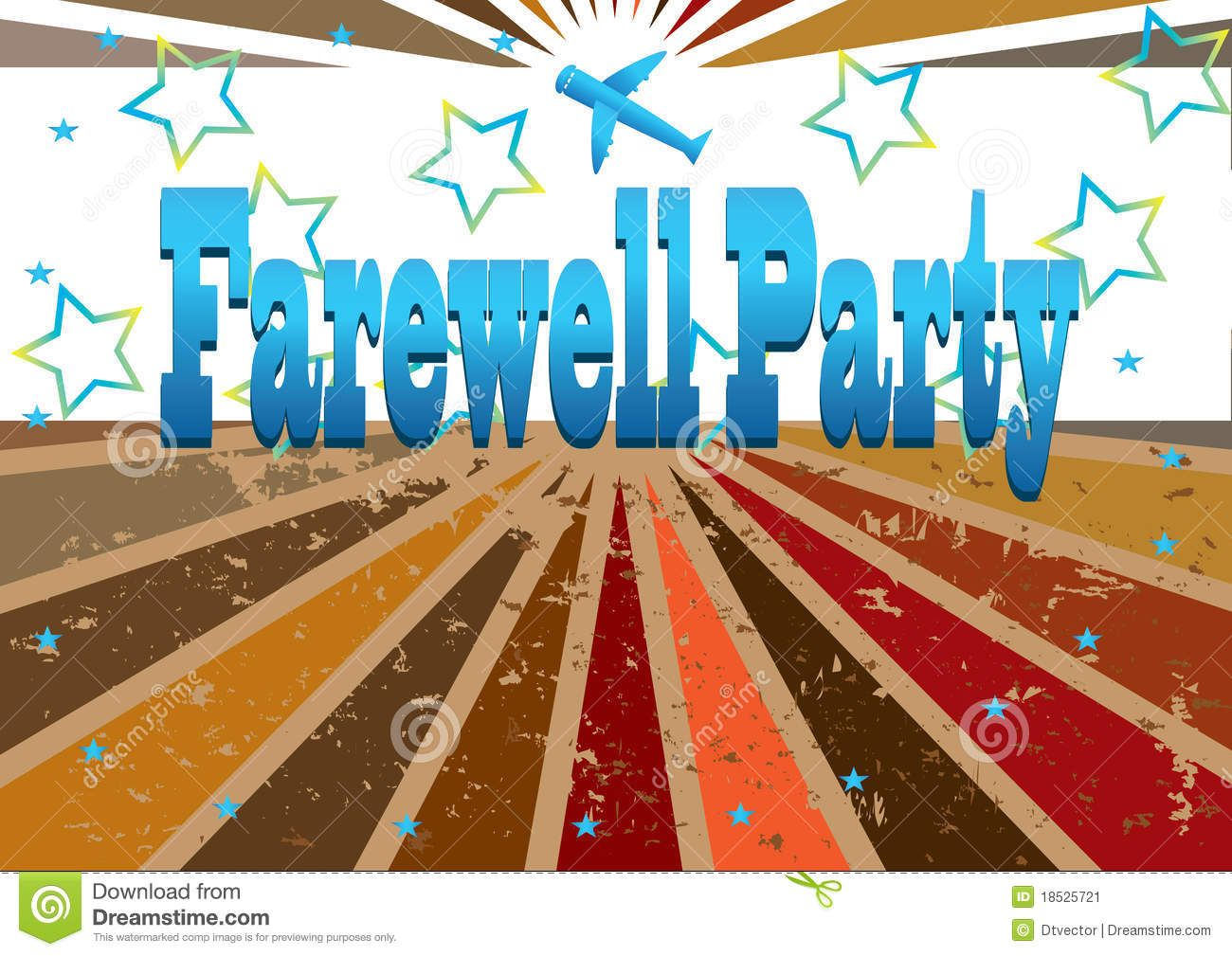 good bye party farewell party clip art farewell party banner eps [ 1300 x 1009 Pixel ]