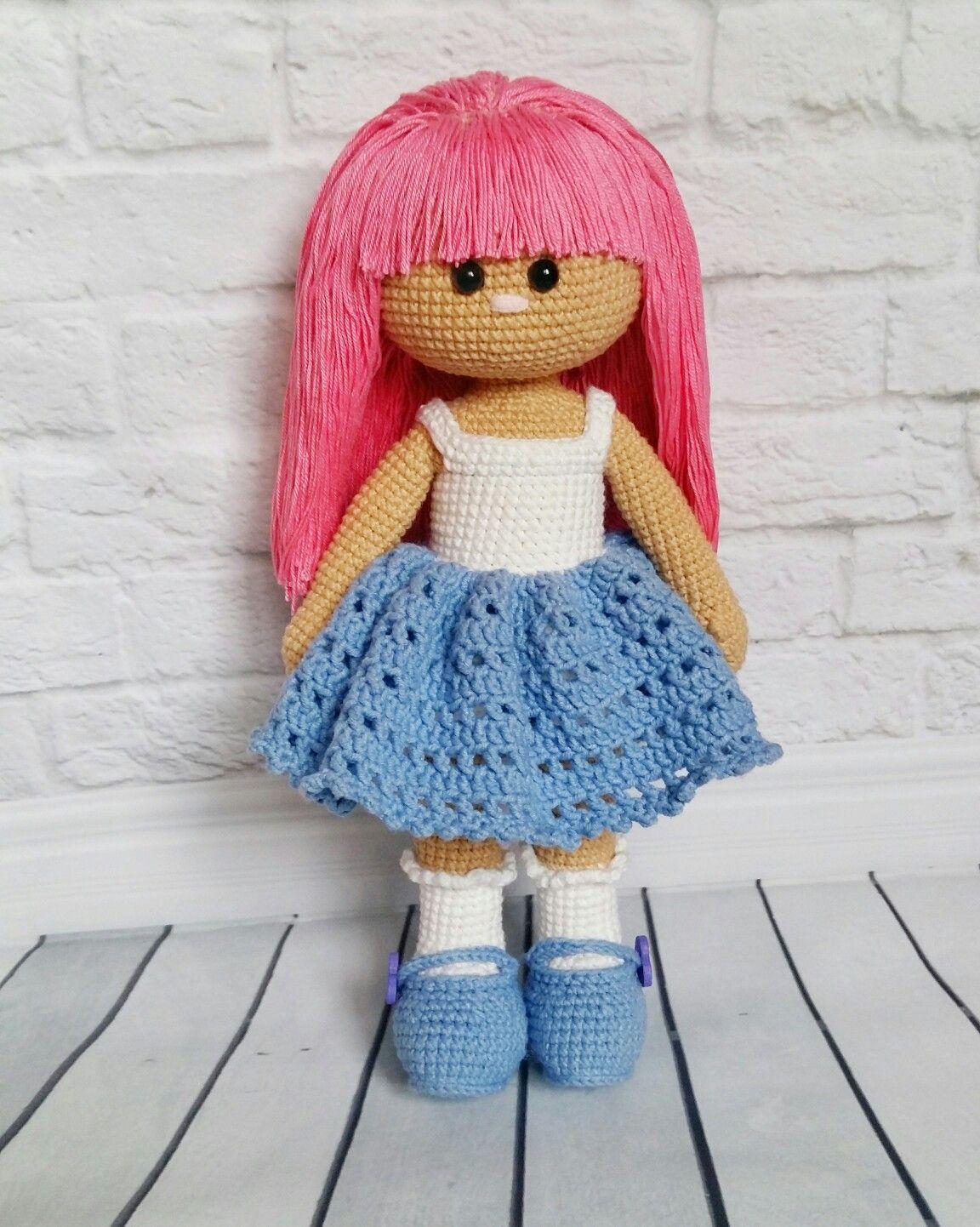 Кукла крючком своими руками мастер класс фото 823