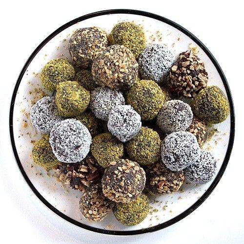 chocolate truffles - etsy