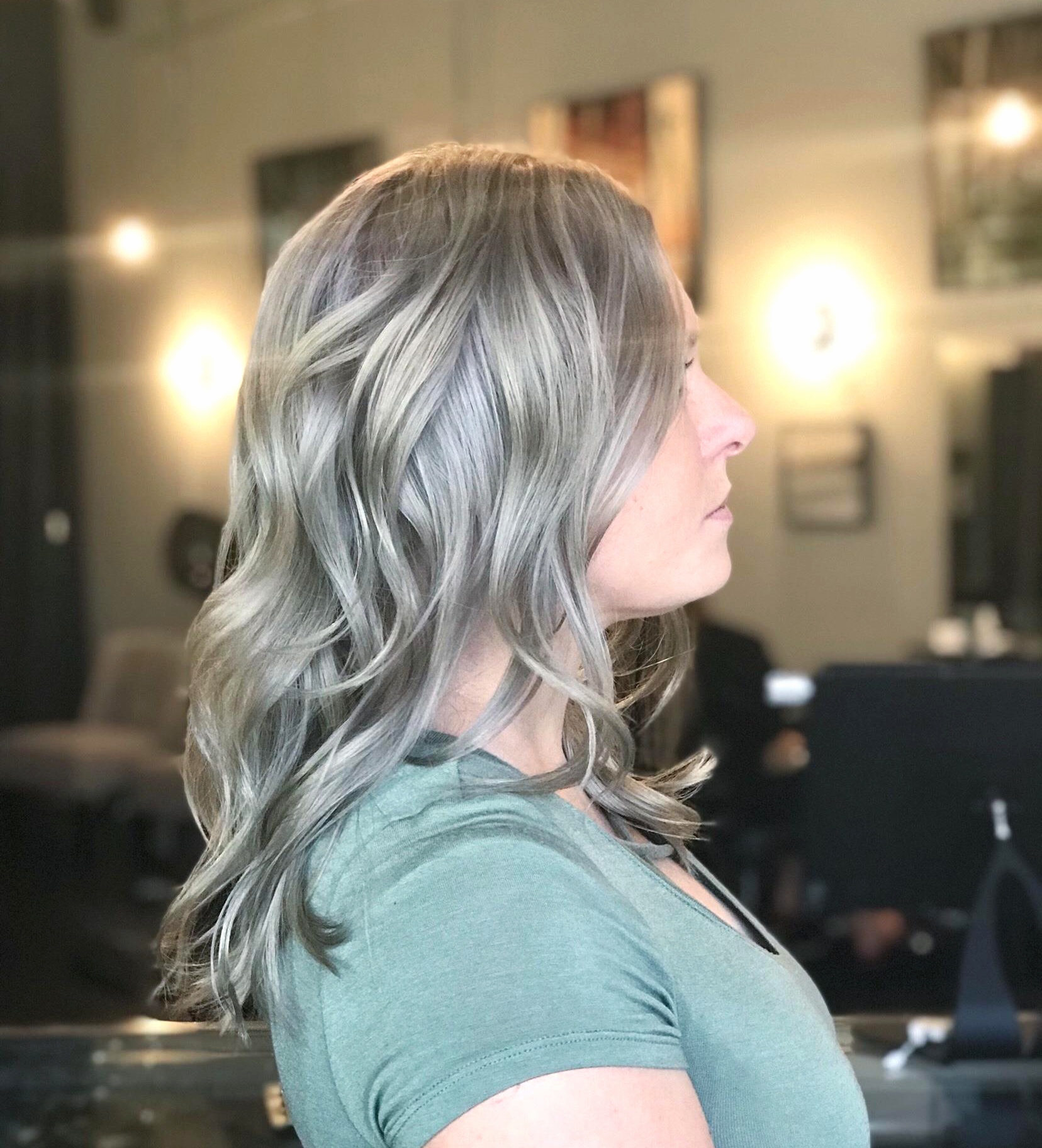 Color correction silver u grey hair ideas pinterest santa