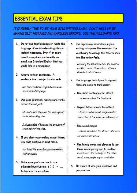 English language essay topics