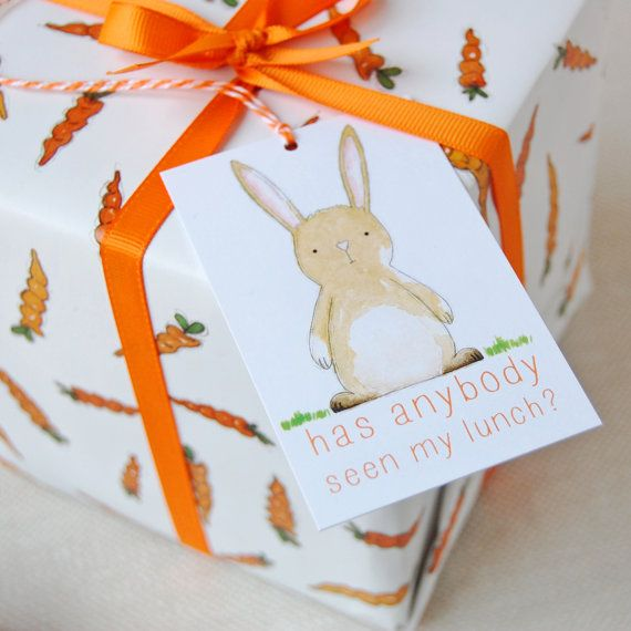 Carrots and rabbits wrapping paper set bunny gift wrap quirky carrots and rabbits wrapping paper set bunny gift wrap quirky eco friendly paper easter gift wrap spring wrapping paper negle Gallery