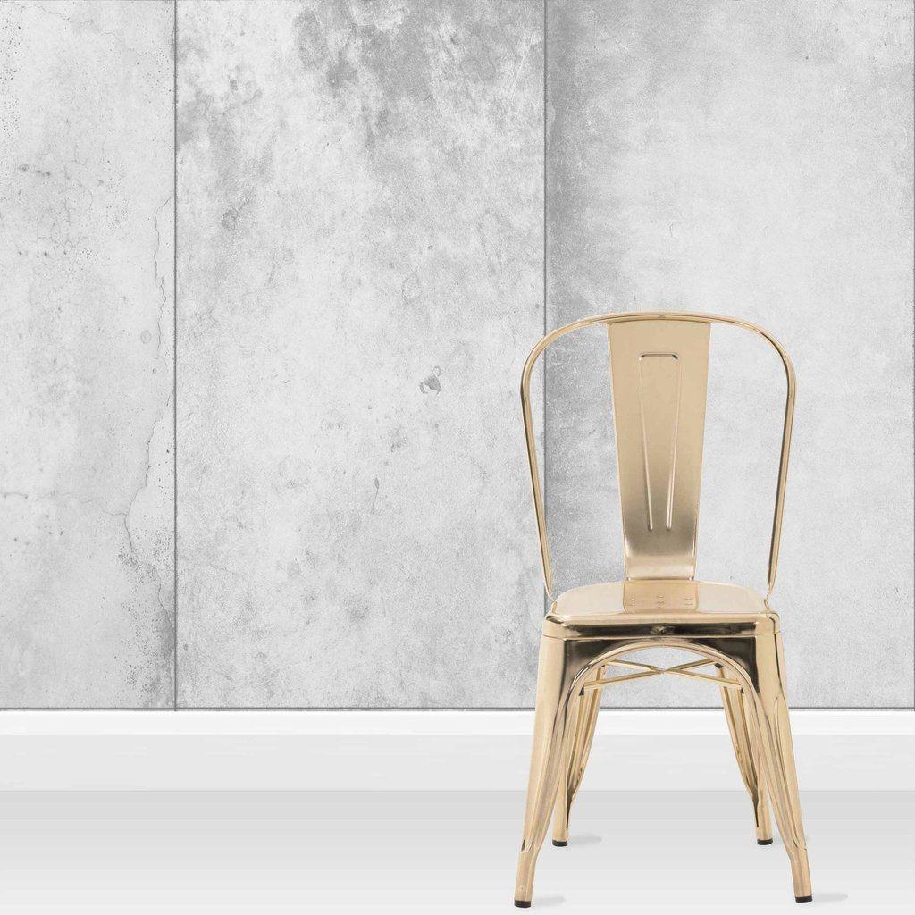 Concrete Panel Wallpaper by Woodchip & Magnolia Concrete
