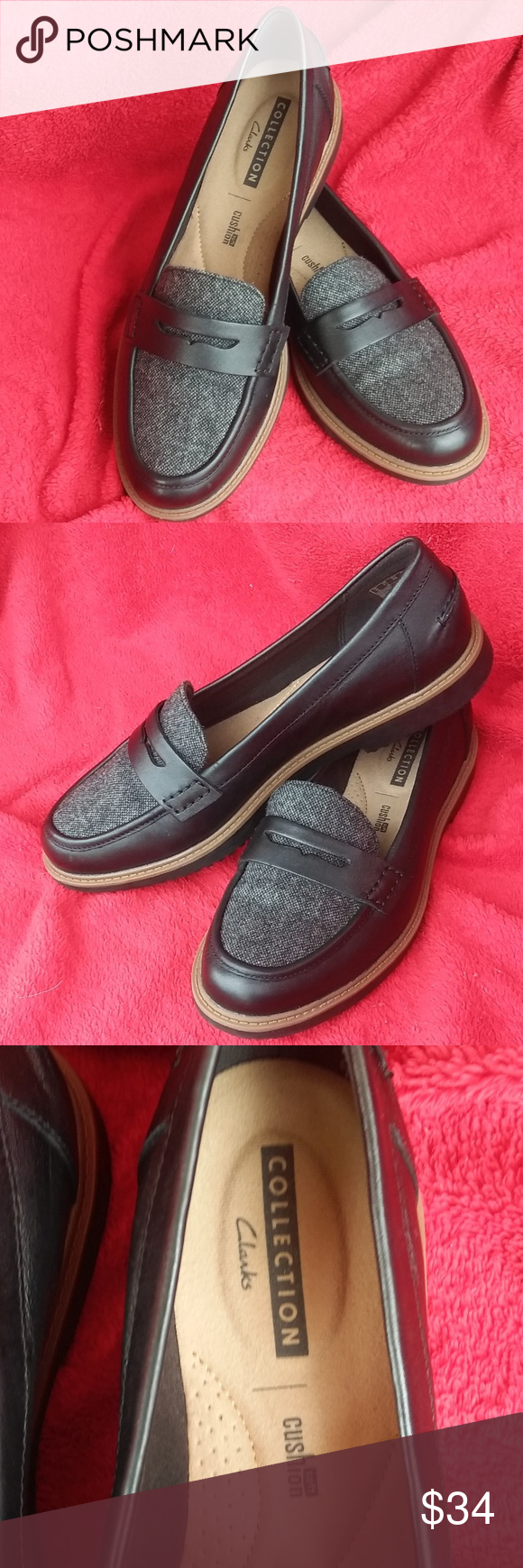 98c4cffeaad CLARKS COLLECTION Women Moccasin Loafers