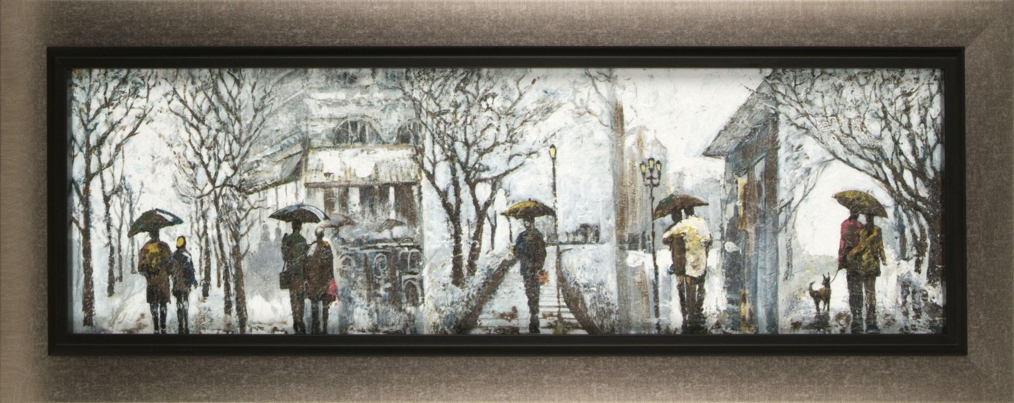 Outdoor Walk by Anastasia C. Framed Painting Print