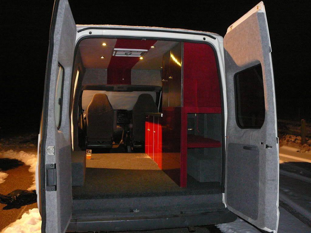 rear door storage for guitars campervan conversion. Black Bedroom Furniture Sets. Home Design Ideas