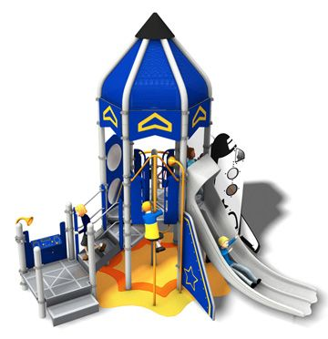 Land the PlayBooster® SkyRocket on your #playground and ...