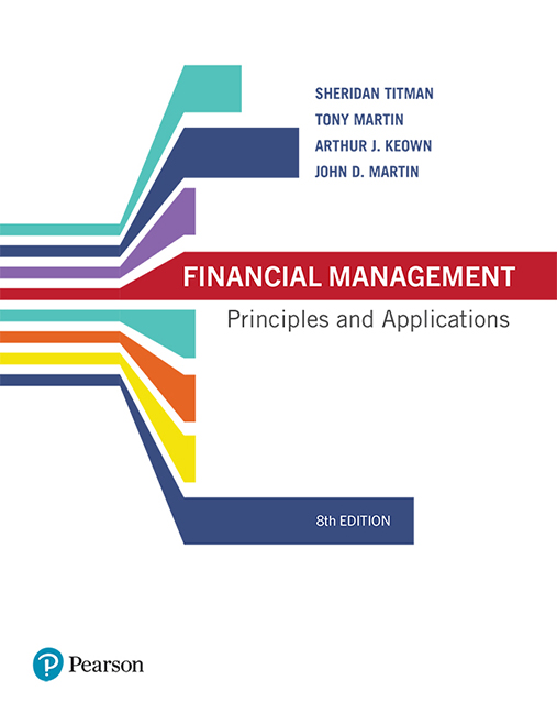 Solution Manual For Financial Management Principles And Applications 8th Edition By Sheridan Titman Tbsmshop Financial Management Financial Management