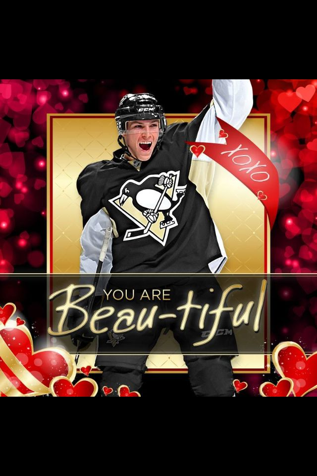 Pittsburgh Penguin Valentine. Beau Bennett