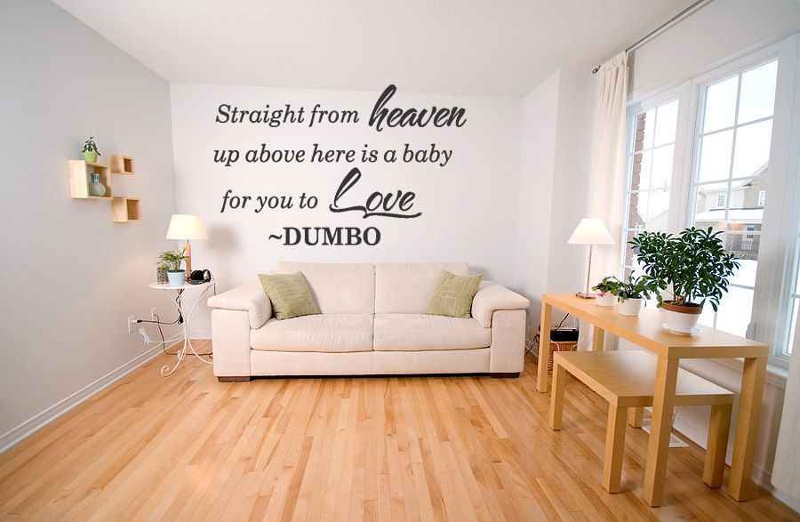Dumbo Quote Vinyl Wall Decal Nursery