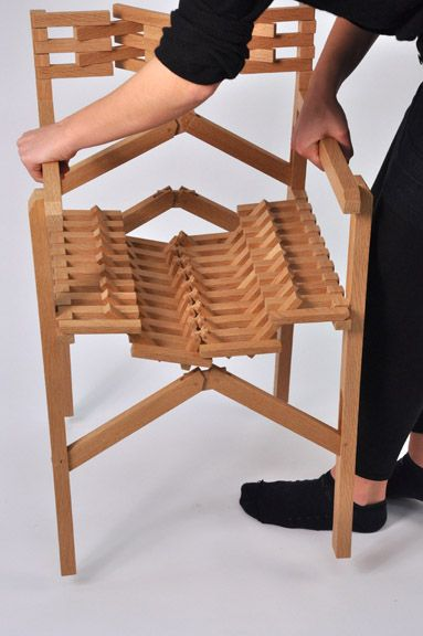 Meg Callahan Fold Chair Cool Design