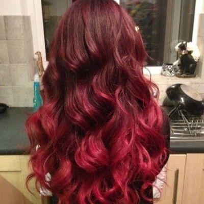 Ombre hair rosso: bello, vivace e sorprendente! | Idee per ...