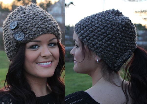 e3f04cc3d22 Knitting Pattern for Clever Little Toque