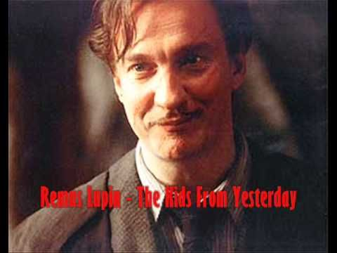 Harry Potter Character Theme Songs Mcr Version Harry Potter Characters Harry Potter Pictures Remus