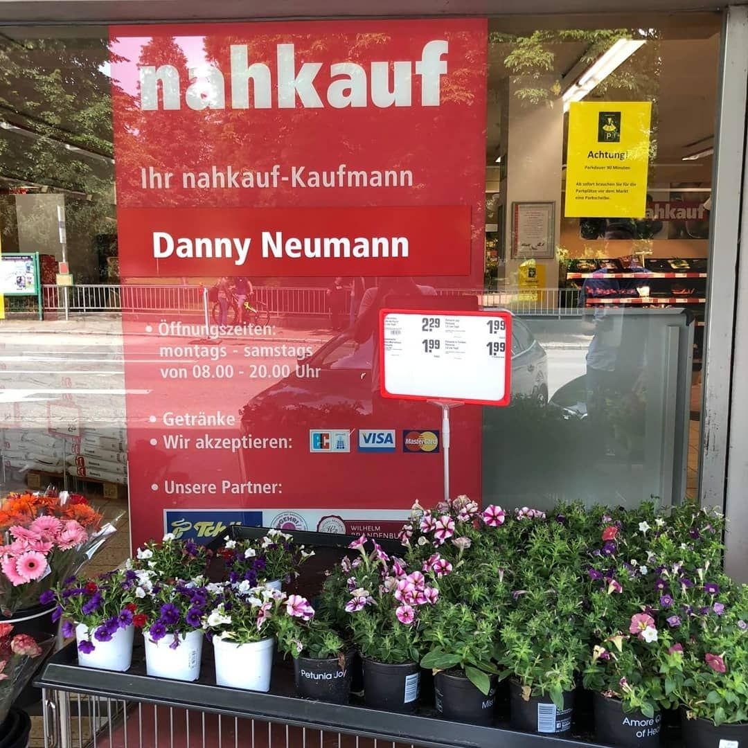 Nahkauf Danny Neumann ist jetzt \