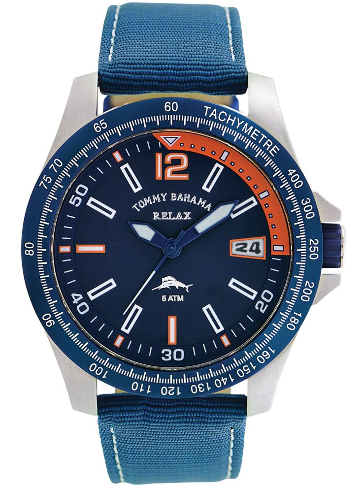 Tommy bahama men 39 s landing watch retail our price only holiday gift for Retail price watches