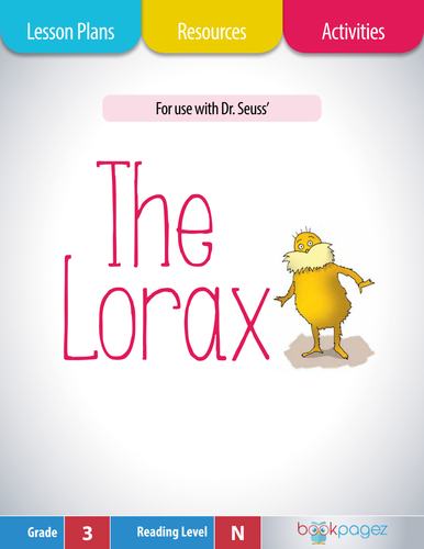 """This set of lesson plans, resources, and activities is for use with """"The Lorax"""" by Dr. Seuss."""