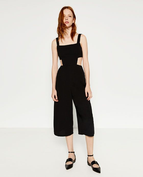 ZARA - NEUWARE - CUT-OUT-OVERALL