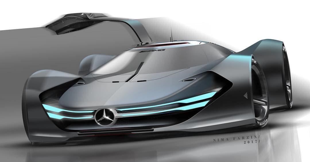 Farzinnimaa Mercedes Benz Race Car Concept Car Design Futuristic Cars Concept Cars