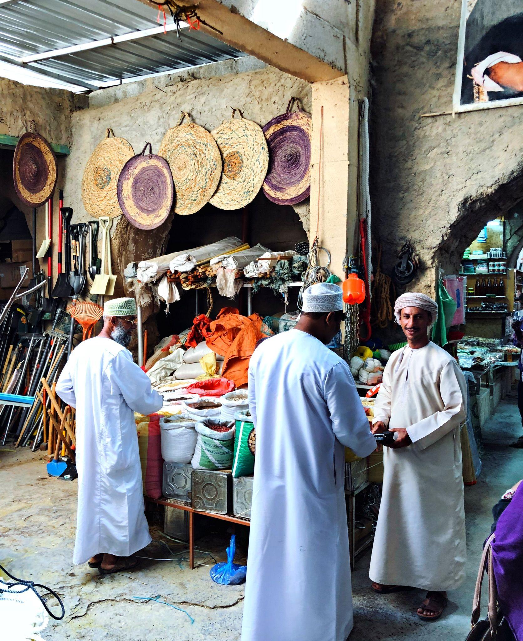 The Ancient Souq Market Of Nizwa Oman Oman People Shopping Desi Wedding Dresses
