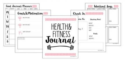 Trendy fitness planner templates track 64 ideas #fitness