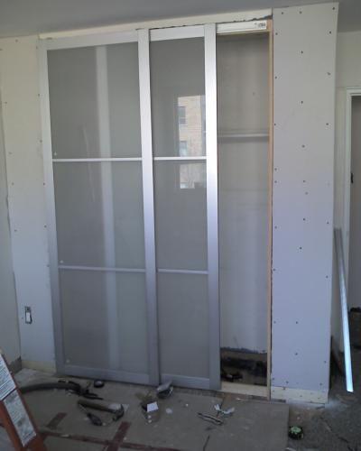 Ikea Hack Pax Doors As Room Dividers And Closet Hiders Ikea