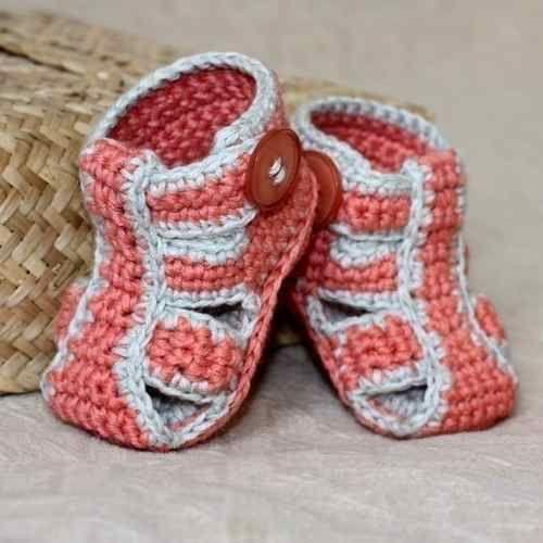 Crochet Zapatos Y Gorros Tejidos Para Bebes  ef04800e31d