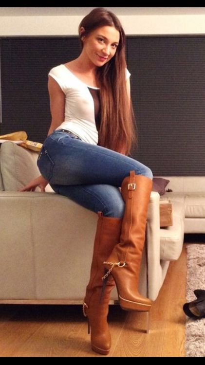 Boner Starters and Bootlovers | boots andskin tight jeans ...