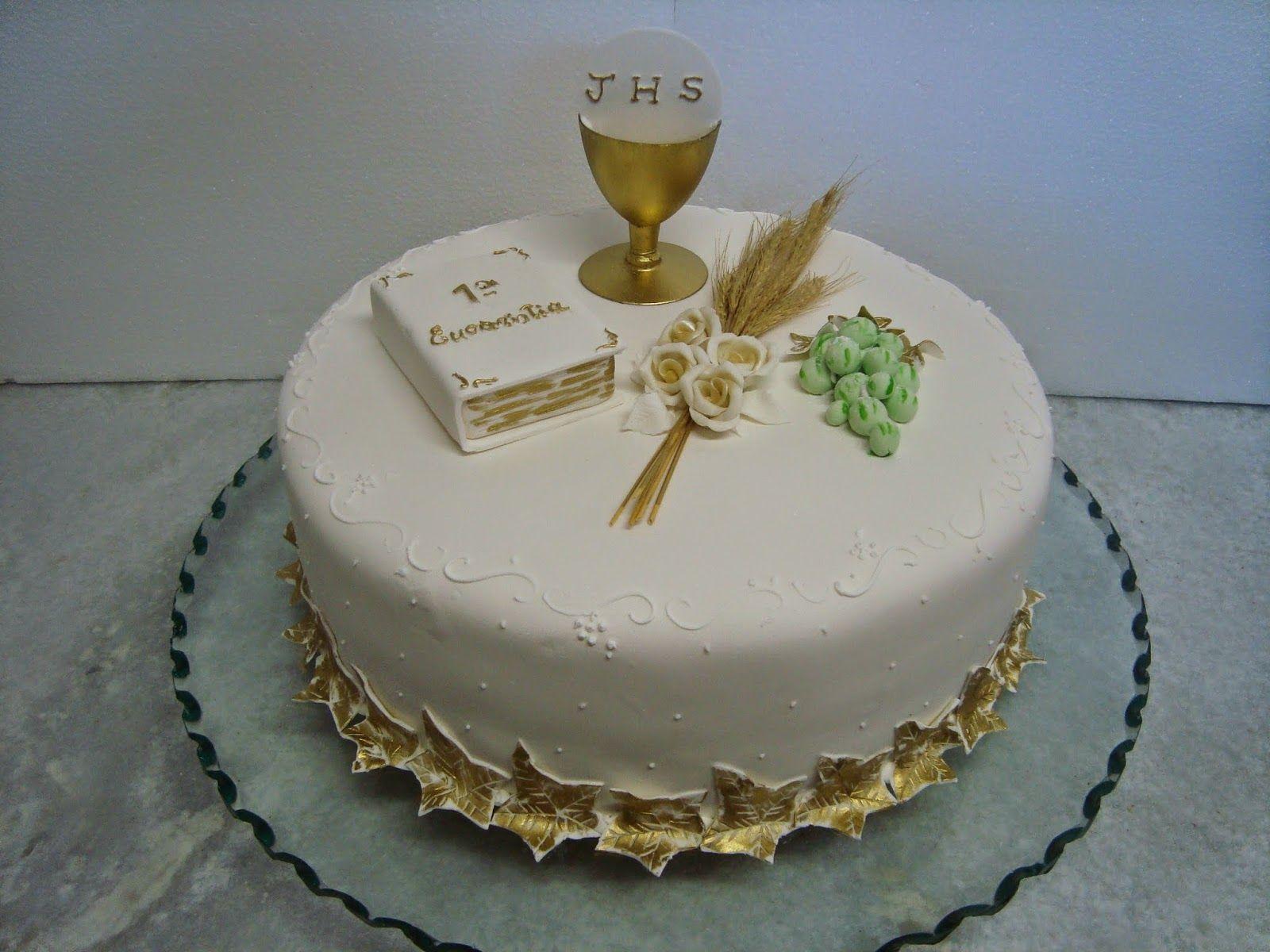 bolo de primeira eucaristia em fortaleza Pesquisa Google Bolos de Primeira Eucaristia