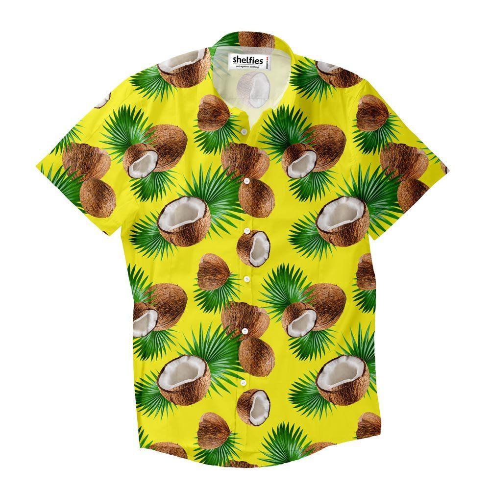 f54c6235f Cuban Coconut Short-Sleeve Button Down Shirt   Button Shirts ...
