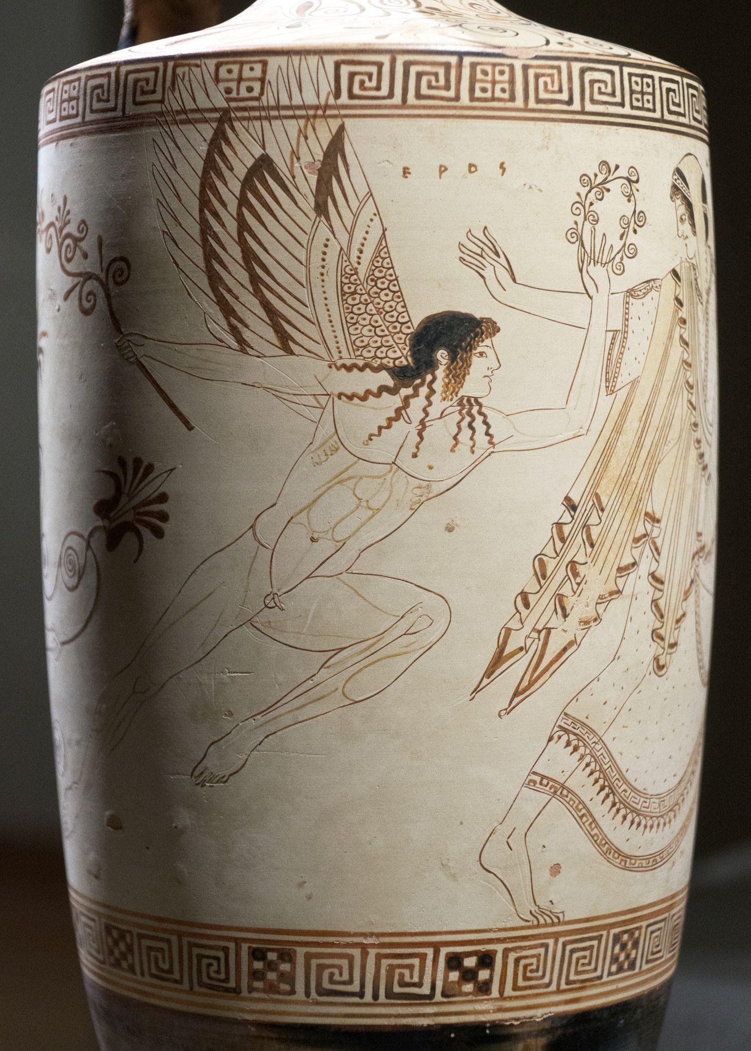 The Atalanta Lekythos 4 Ancient Greek Art Ancient Greek Pottery Greek Art