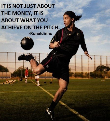 Ronaldinho Playing Soccer Known As Ronaldinho Or Ronaldinho