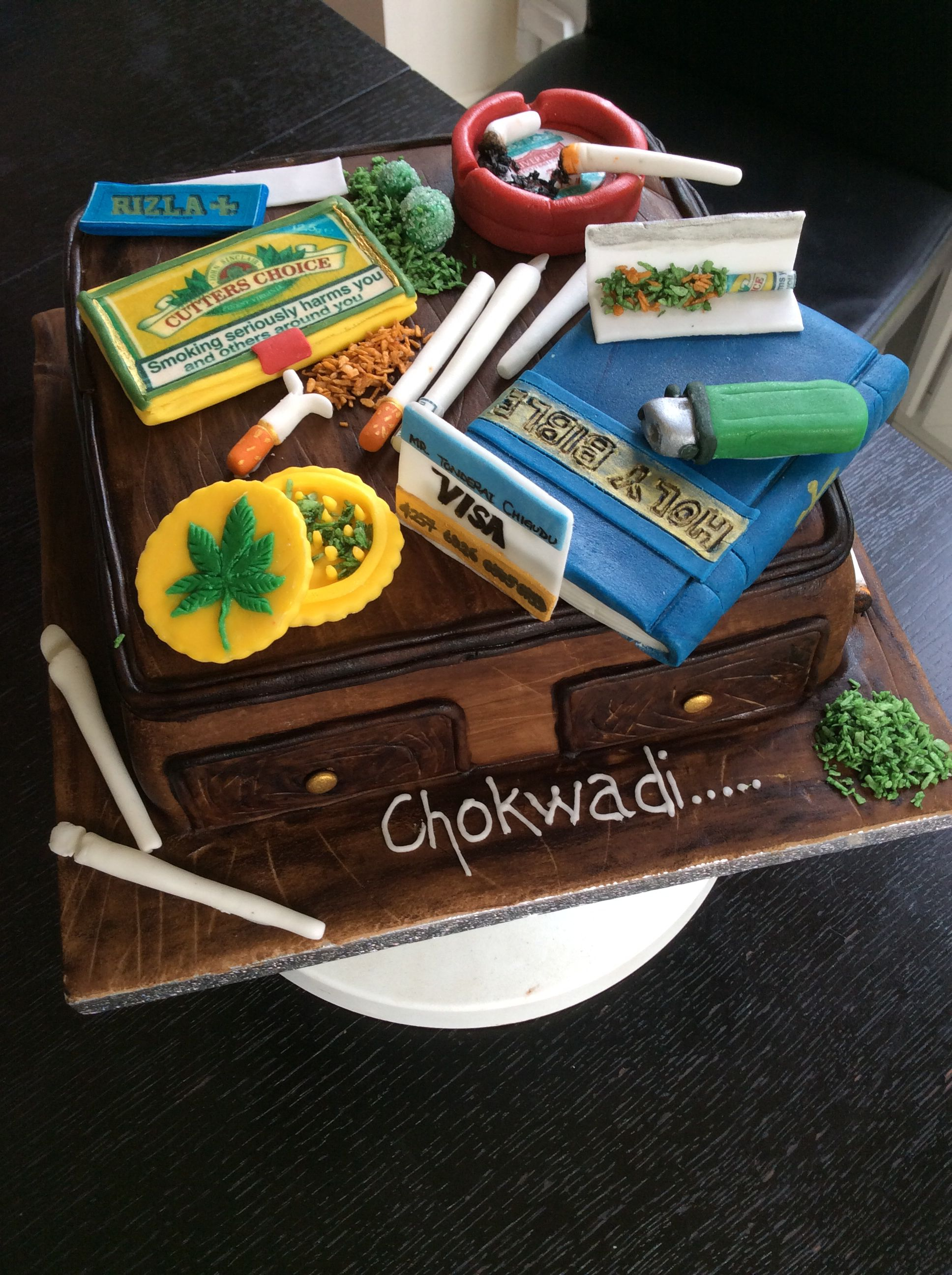 Sekuru s Stoner Cake Lime cake with coconut buttercream Had to