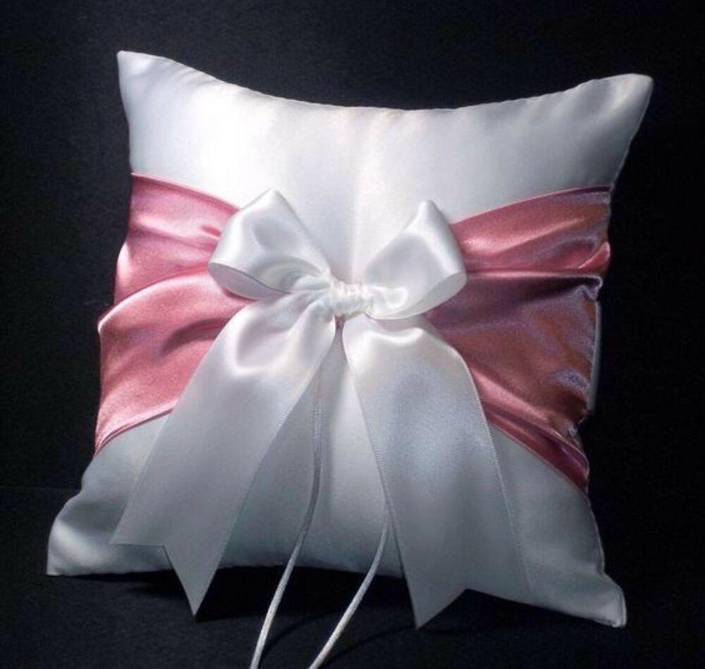 29+ Pink wedding ring pillow information