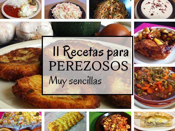 recetas comidas sencillas y rapidas