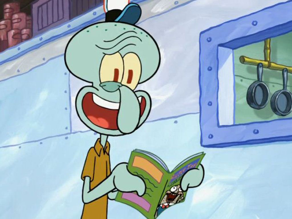 squidward tentacles from