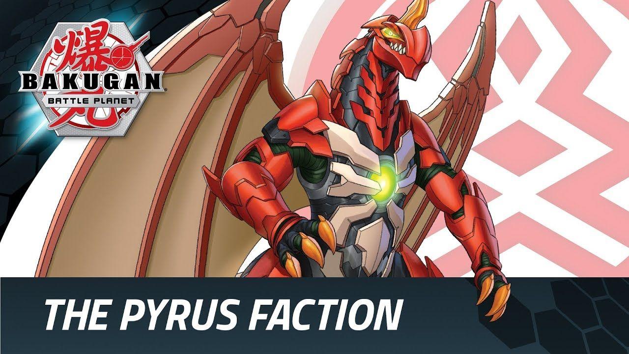 Bakugan Battle Planet Faction Focus Pyrus Dessin Art Dessin