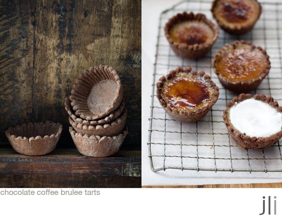 café chocolate brulée tartas
