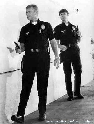 Pete And Jim Adam 12 Martin Milner Police Tv Shows
