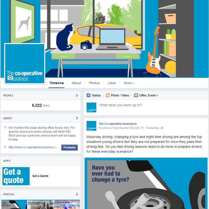 Coop Insurance Facebook Cover Image Facebook Cover Images